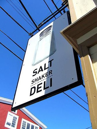 Salt Shaker Deli: Front door