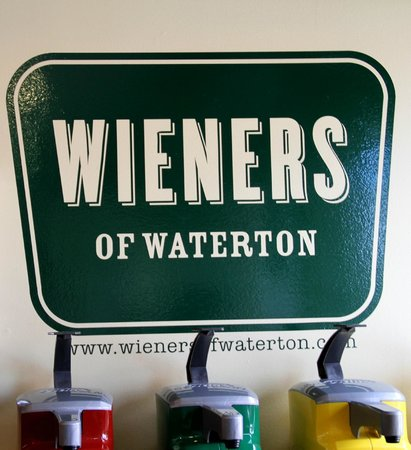 Waterton Glacier Suites : Weiners for Great Sweet Potato Fries