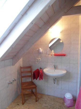 Gasthaus zur Post: Camera 26 - bagno