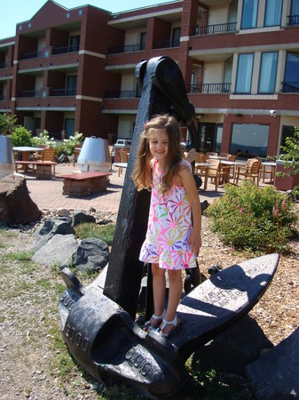 The Inn On Lake Superior : Neat maritime decor on the grounds...we love these photo-ops!