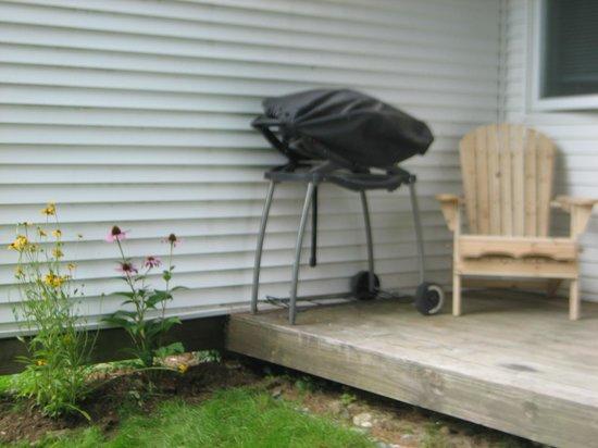 PowderHound Condominiums: Unit 15 - Back Deck