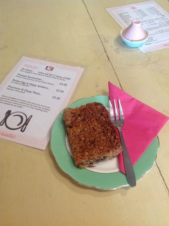 Lulubelles Of Dorset: Yummy flapjack