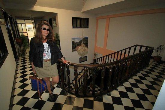 Hotel La Torre: Hall du premier étage