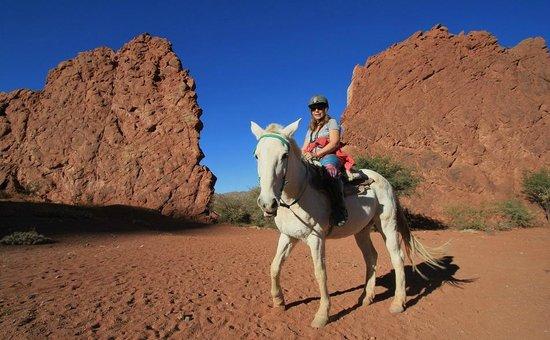 Hotel La Torre: Balade à cheval