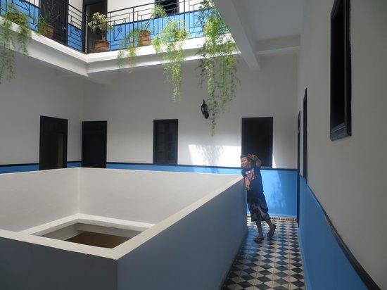 Riad Sidi Magdoul: vue du patio