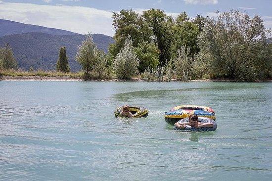 Camping Huttopia Dieulefit : Lake Dieulefit