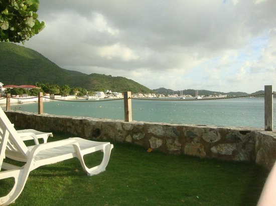 Grand Case Beach Club: View from our hotel room