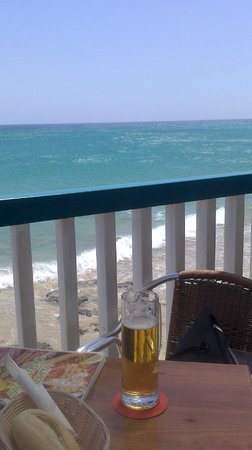 SBH Taro Beach: Bar proximo al hotel