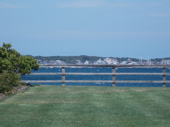 Provincetown Inn Resort & Conference Center: view of bay and Provincetown from room