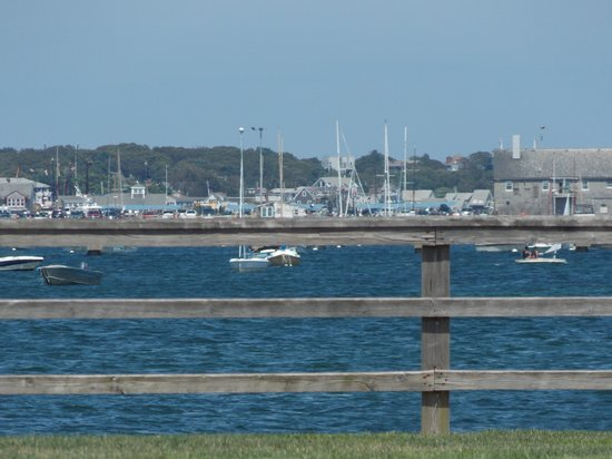 Provincetown Inn Resort & Conference Center: closer view of bay and Provincetown