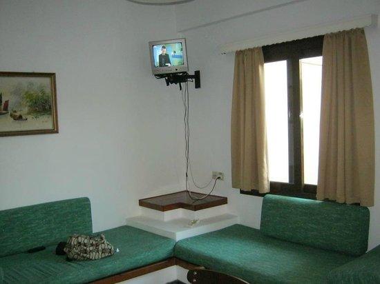 Hotel Pergamos Village: Lounge area