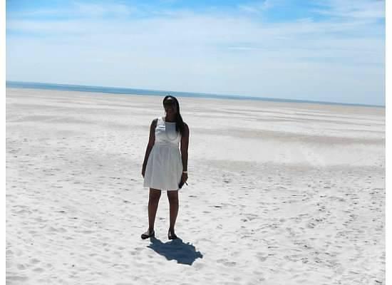 St. Augustine Beach: at beach