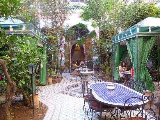 Riad Catalina : inner courtyard