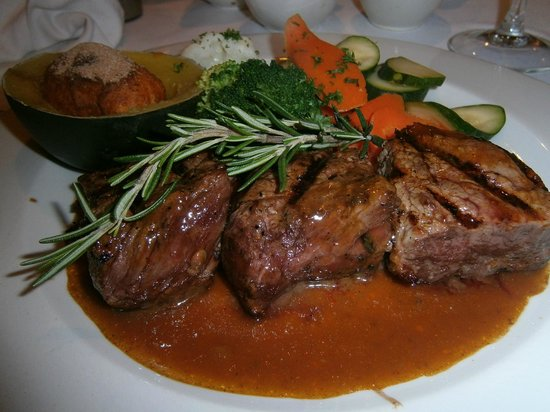 Jemima's Restaurant : Kudu, struzzo, manzo