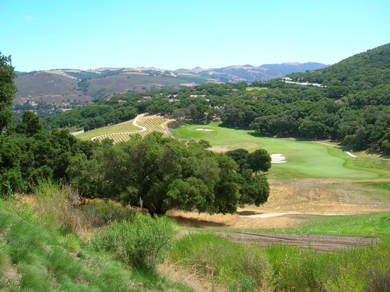 Carmel Valley Ranch: view from golf course