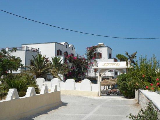 Kafouros Hotel : Outside of the hotel