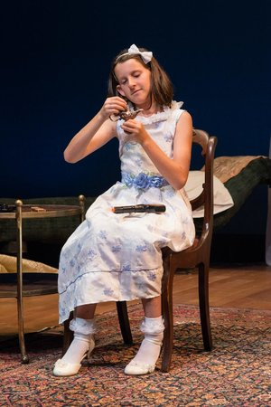 Wellfleet Harbor Actors Theater : Lucy Blood as Dixie in Cat on a Hot Tin Roof