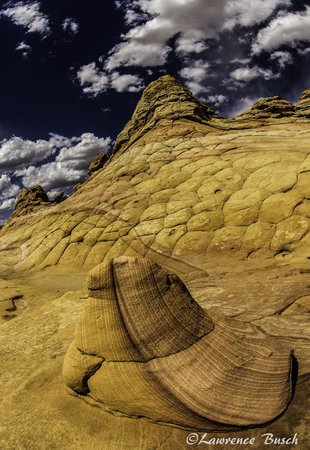 Dreamland Safari Tours : Sandstone formations at Coyote Buttes South.