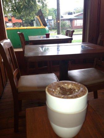 Lounge Brasil: disfrutando chocolate caliente