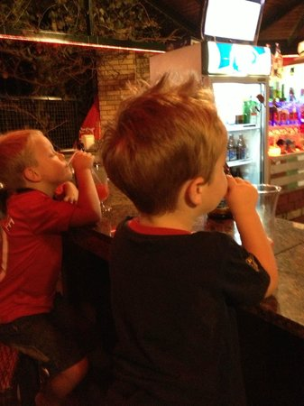 Life Apartments: Kids enjoying their cocktails