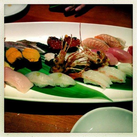 Sanraku Japanese Restaurant: Sushi Omakase