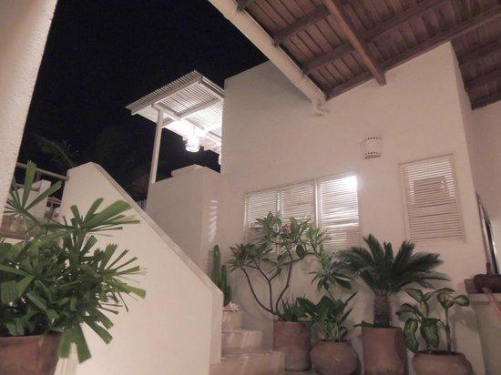 Villa Caracol: vista para o terraço