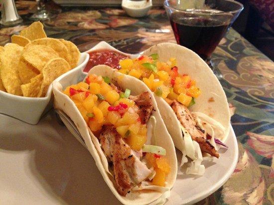 Tari's Cafe: Thai Mahi Tacos
