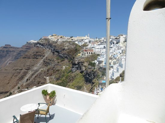 Santorini Reflexions Volcano: view from our room