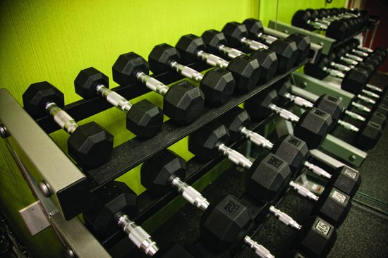 Fairfield Inn & Suites Texarkana : Stay Fit with our Free Weights