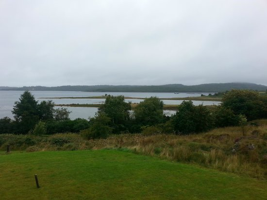 Loch Creran View : View from B&B