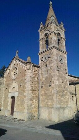 Tenuta di Mensanello: la chiesetta di Mensanello