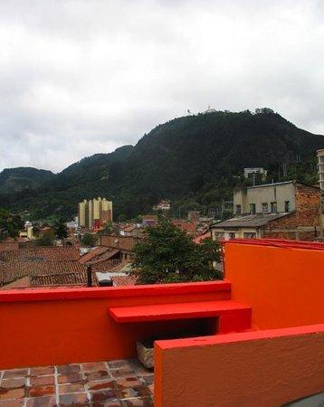 Apartaestudios La Candelaria: terrazza con vista