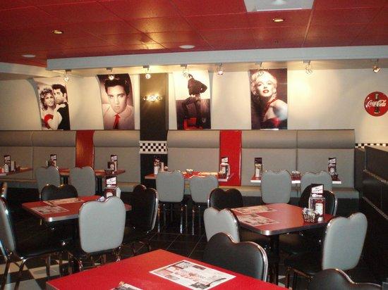 Restaurant Retro 50: Intérieur
