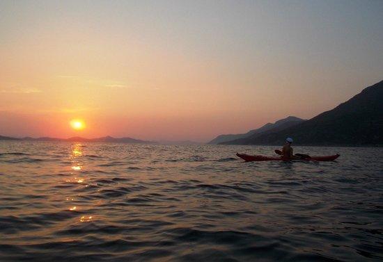 Camping Pod Maslinom: tramonto dalmata
