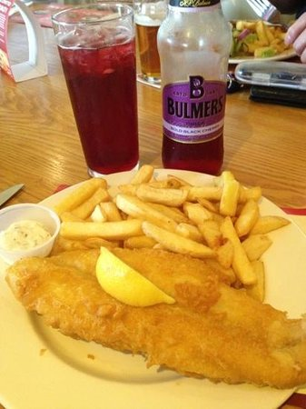 Brewers Fayre: Hand-battered Fish & Chips