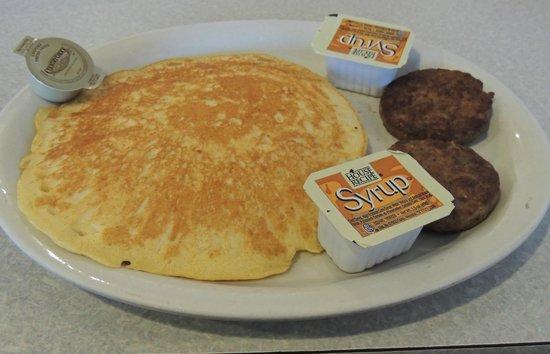 Jack's Place: Sausage & pancake