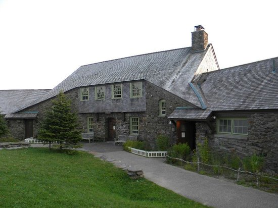 Bascom Lodge: View of front of lodge