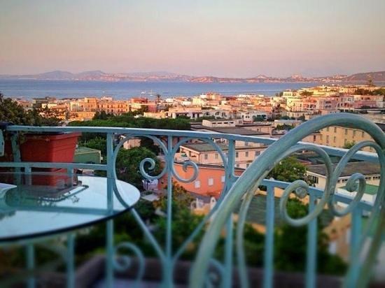 Posidonia Residence: Splendido panorama!
