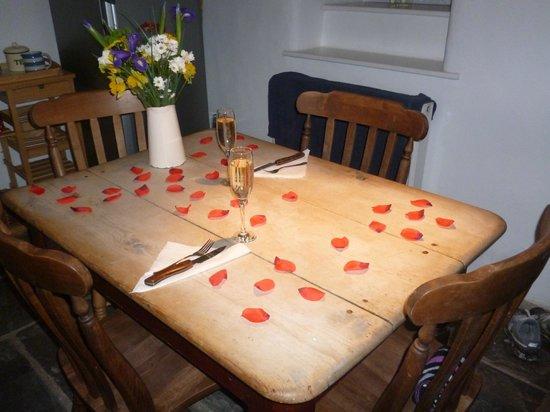 Hen Glyn: Nice dining area