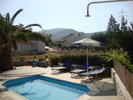 Villa Ritsa : The Pool