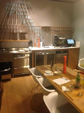 ASK Italian - Exeter : why am I sat in the kitchen?