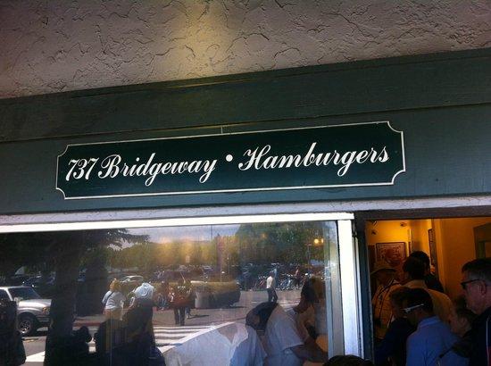 Hamburgers: fachada principal