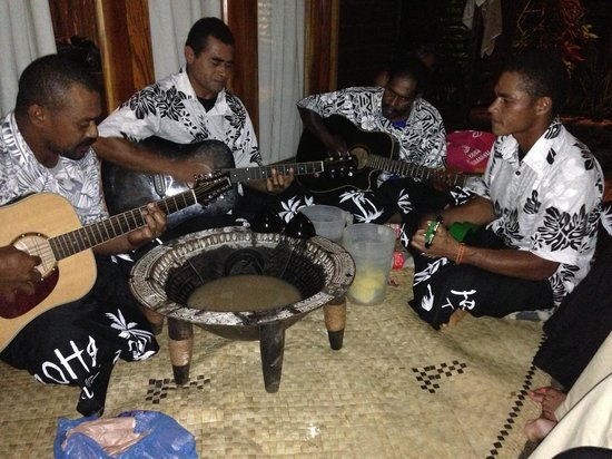 Aroha Taveuni: Fiji night at Aroha. Good music and kava