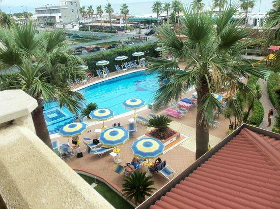 Hotel Olimpico: veduta piscina