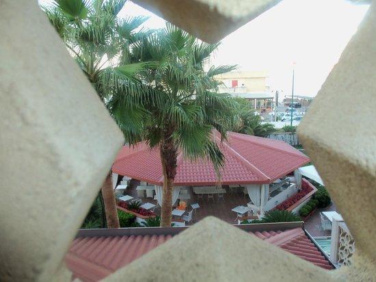 Hotel Olimpico: veduta veranda