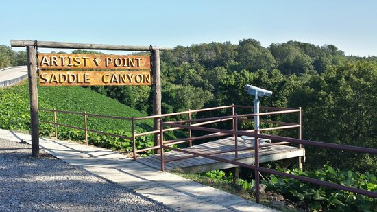 Mountainburg, AR: Artist Point Scenic Overlook