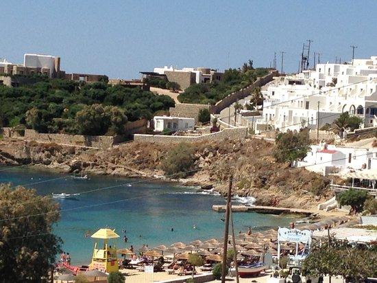 Mina Beach Hotel: Vista mare