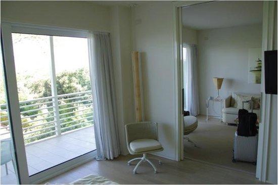 UNA Hotel Versilia: soggiorno visto dalla camera