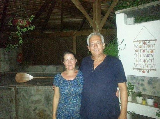 Sehrazat Hotel: monsieur et  madame SERVET