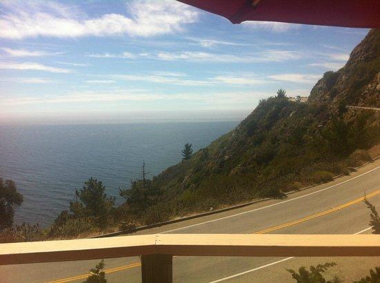 Big Sur Coast Gallery & Cafe: vistas desde la terraza